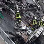 Szakértők: azonnal le kell bontani a genovai híd maradványait