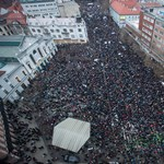 1989 óta nem volt ekkora tüntetés Pozsonyban, mint ma