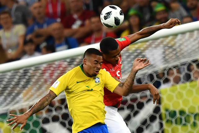 Brazília-Svájc
