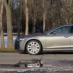 Első kémfotókon a megújuló Audi A8