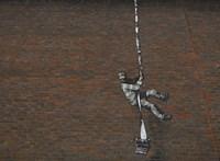 Banksy festhetett menekülő rabot a híres readingi fegyház falára