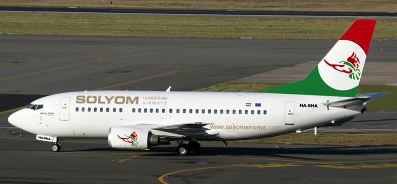 Photoshoppal készült a Sólyom Airways első gépe