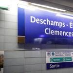 """Deschamps Elysées, Victor Hugo Lloris – """"új"""" metrómegállói lettek Párizsnak"""