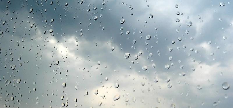 Délutánra jön csak meg ma az eső