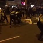Videó: Véres zavargásokkal kezdődött a majom éve Hongkongban