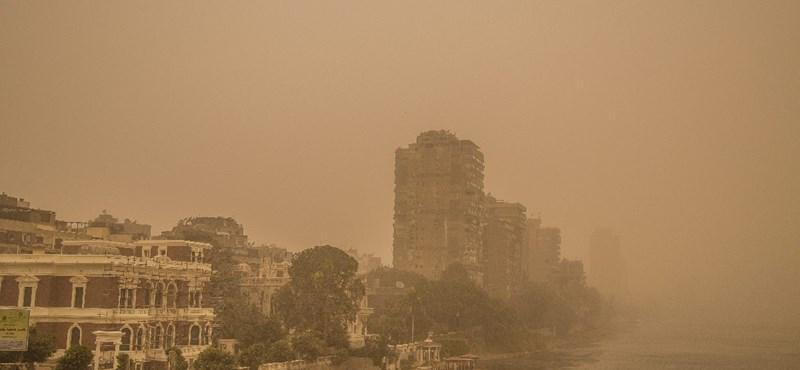 Lövöldözés volt Kairó központjában