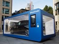 Autóautomatát tesztel egy brit kereskedő