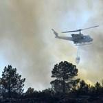 Három települést ki kellett üríteni erdőtűz miatt Berlin közelében