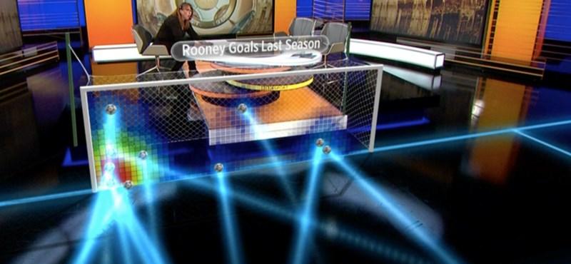 Virtuális focipálya lesz a stúdióból: ilyen lehet a nyári Eb-közvetítés