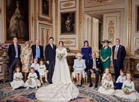 Itt vannak a hivatalos fotók Eugénia hercegnő esküvőjéről