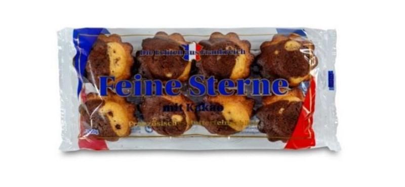Fémdarabkákat találtak a Müller egyik kakaós süteményében