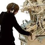 Hihetetlen zenegépet épített egy svéd művész (videó)