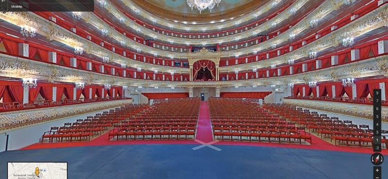Nézzen körbe otthonról a világ egyik leghíresebb színpadán