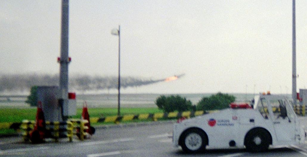 afp.00.07.25. - Lezuhant Concorde - Concorde, repülőgép, nagyítás