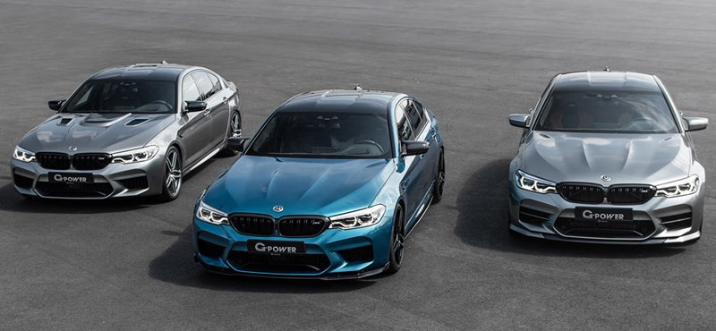 900 lóerő talán már elég lesz az új M5-ös BMW-ben