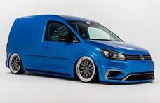 Valószínű nem szaladgálós autónak építették ezt a 360 lóerős ültetett Volkswagen Caddyt