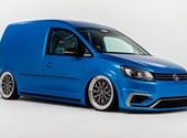 Nem szaladgálós autónak építették ezt a 360 lóerős Volkswagen Caddyt