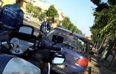 A motoros rendőrök is komoly bírságot szabhatnak ki – videó