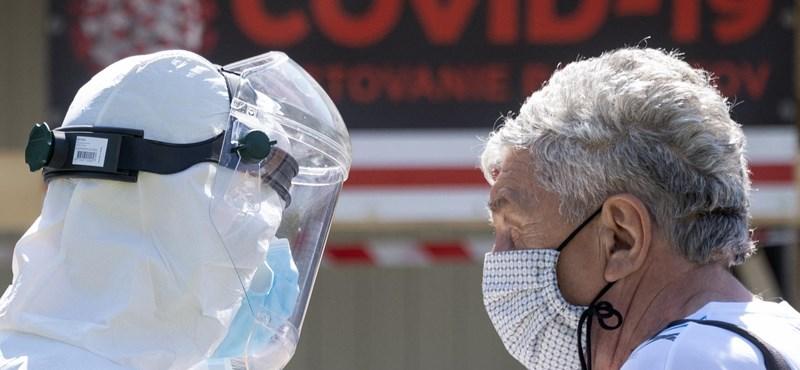 Tavaly ősz óta először nem volt koronavírushoz köthető haláleset Szlovákiában