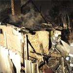 Több ház lángolt Soroksáron