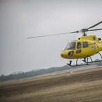 ORFK: korszerű mentőhelikopterek állnak szolgálatba hétfőn