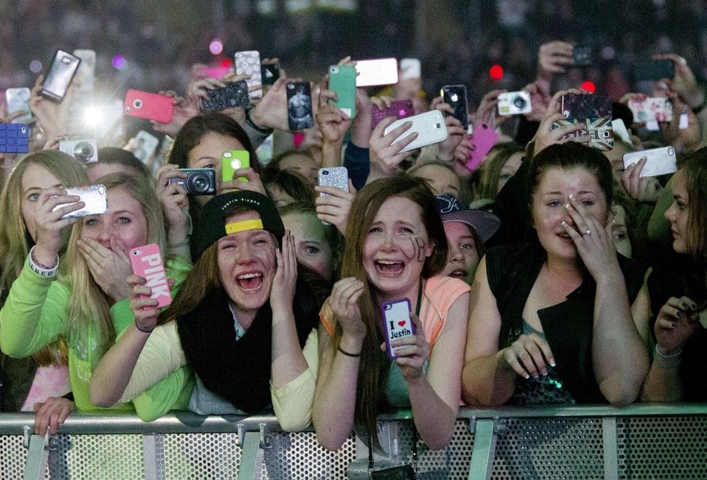 Justin Bieber, rajongók