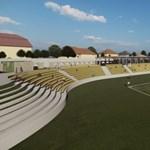 Harmadosztályban is jár a stadion: elkészültek az egri látványtervek