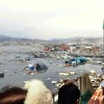Videó: égő sártenger árasztja el a házakat Japánban