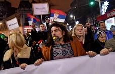 Véget ért az elnöki palota blokádja Belgrádban