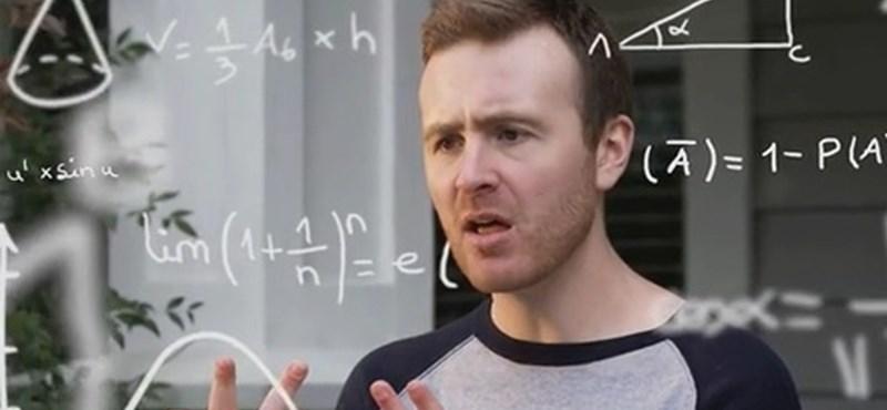 Zseniális gifek: így még biztos nem láttátok a matekszabályokat és összefüggéseket