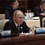 Szíriai bombázásokról és a liberalizmust védelmező Kínáról is beszélt Putyin Pekingben