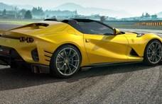 Komoly meglepetéssel rukkolt ki a Ferrari a debütáló 830 lóerős újdonsága mellé