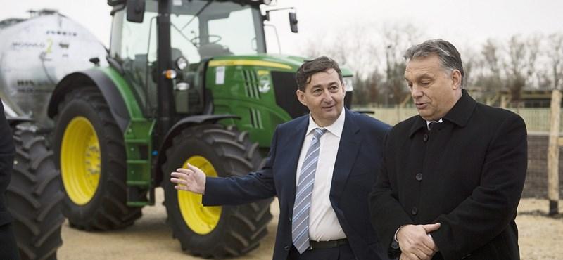 Gyorstalpalón lett Mészáros Lőrinc aranykalászos gazda