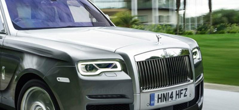 """Azt ígérik nem lesz """"rondaság"""" a Rolls-Royce első SUV-ja"""