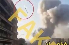 """Már terjed a neten, hogy a bejrúti robbanást """"valójában"""" rakéta okozta"""