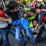 Kemény volt a május 1-je Isztambulban