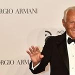 Armani nézők nélkül mutatja be legújabb ruhakollekcióját