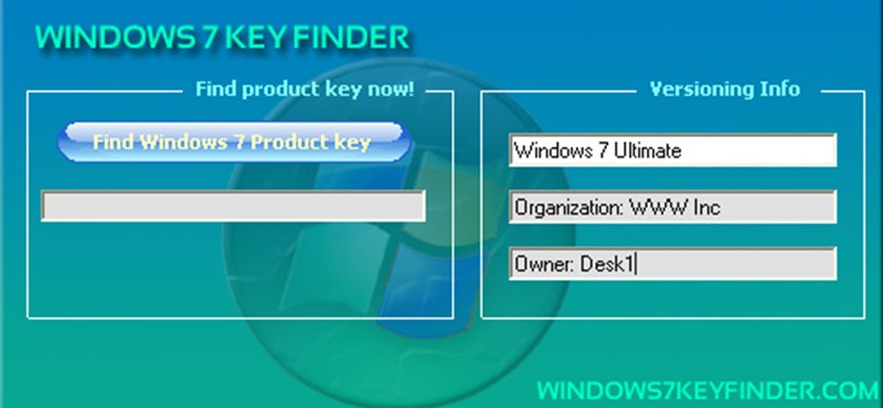 Gyors segítség, ha szüksége van a Windows 7 termékkulcsra