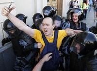 Újabb tüntetések Moszkvában