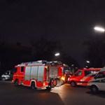 Az ablakon ugráltak ki az emberek, amikor kigyulladt egy társasház Németországban