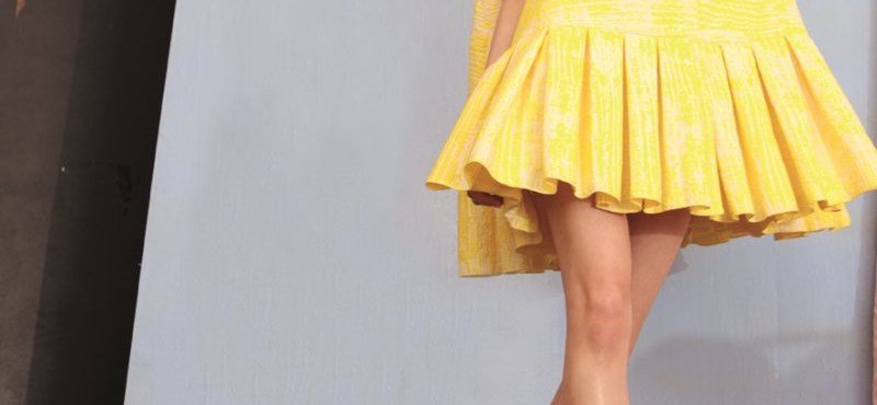 Ez a divat: napsárga