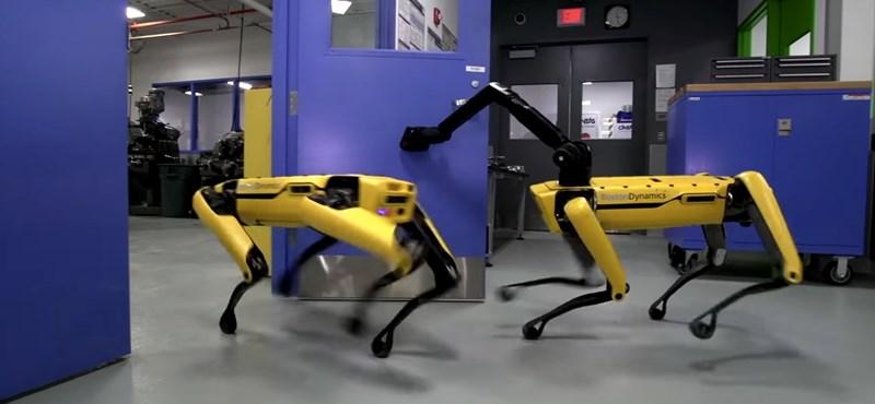 Majdnem kész, hamarosan kapható lesz a Boston Dynamics félelmetesen okos robotkutyája