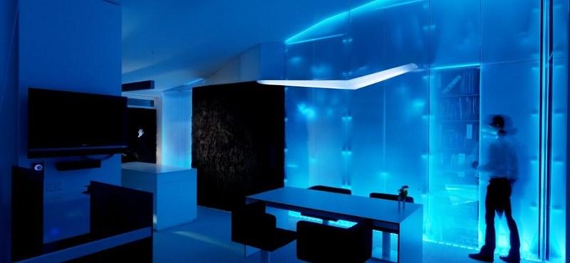 Extrém fények és terek: luxus loftlakás Grazban