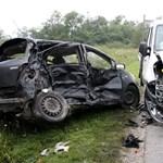 Fotó a noszlopi halálos balesetről