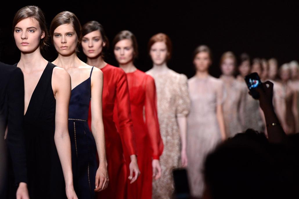 divatbemutató, design, hét képei