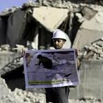 Iskolára lőttek ágyúval Szíriában, hat gyerek meghalt