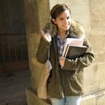Emma Watson első napja az Oxfordon