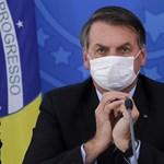 Jair Bolsonaro brazil elnök elkapta a koronavírust