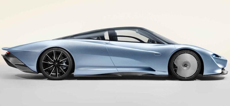 1036 lóerő és 636 millió forint: íme az új McLaren hiperautó