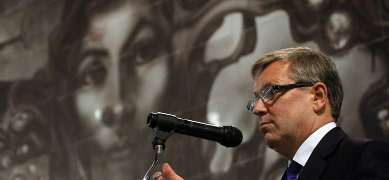 Matolcsy: Olli Rehn mondjon le!